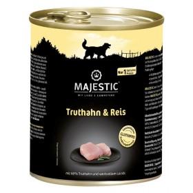 MAJESTIC Hund Truthahn&Reis 800 g Dose