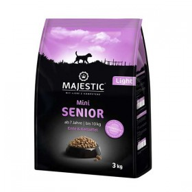 MAJESTIC Mini Senior Light  Ente&Kartoffel 3 kg