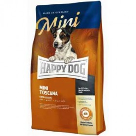 HAPPY DOG Supreme Mini Toscana 300g mit Ente und Lachs