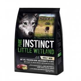 PURE INSTINCT MINI Little Wetland 1kg mit Huhn, Wasserbüffel und Ente (912188)