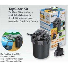 SuperFish Topclear 5000 UVC 7 W KIT - Teichfilterset