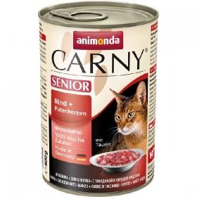 animonda Carny Senior Rind+Putenherzen