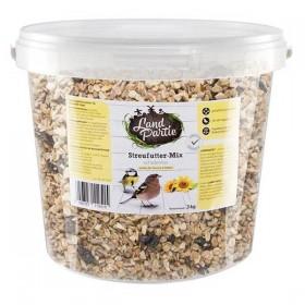 LandPartie Wildvogel 3kg Streufutter-Mix schalenlos (811251)