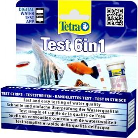 Tetra Test 6in1 Teststreifen 25 Stück (175488)