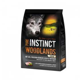 PURE INSTINCT WOODLANDS Junior mit Huhn und Truthahn