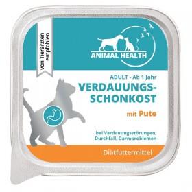 Animal Health Katze Adult 100g Verdauungsschonkost mit Pute