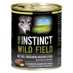 PURE INSTINCT WILD FIELD Dose mit Hase