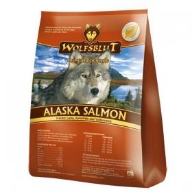 WOLFSBLUT Alaska Salmon Adult mit Lachs, Kartoffeln&Vollkornreis.