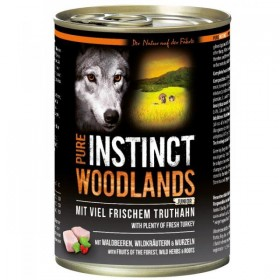 PURE INSTINCT WOODLANDS Junior Dose mit Truthahn
