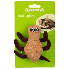 azoona Katzenspielzeug Spinne Kork 5cm (712657)