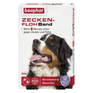 beaphar Zecken-Flohband Hund extra lang 70cm