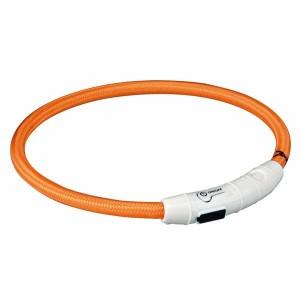 USB Flash Leuchtring orange