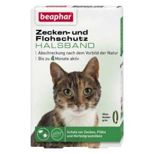 beaphar Zecken- und Flohschutz Halsband für Katzen