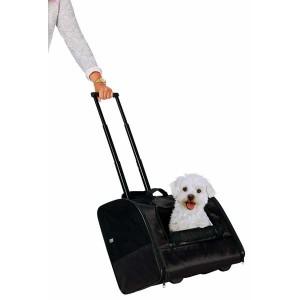 TRIXIE Trolley Elegance schwarz Hund