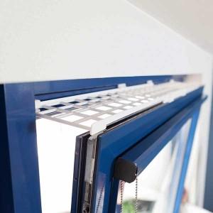 TRIXIE Schutzgitter für Fenster ausziehbar (75-125 × 16 cm)