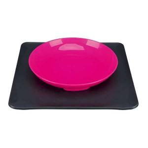 TRIXIE Yummynator Napfsystem 400 ml/24 × 24 cm pink/grau