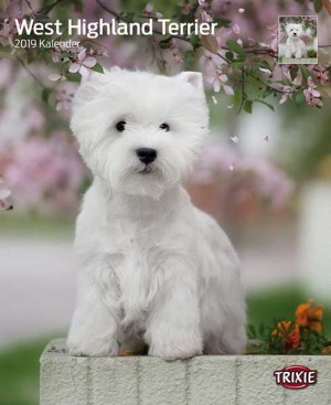 TRIXIE Kalender - West Highland Terrier