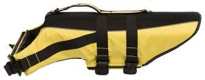 TRIXIE Schwimmweste schwarz/gelb in 5 Größen