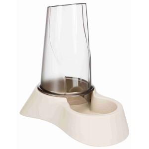 TRIXIE Futter- und Wasserspender 0,65 l helltaupe (25090)