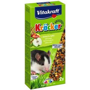 Vitakraft Kräcker® Original + Dinkel & Apfel Ratte 2St./113g