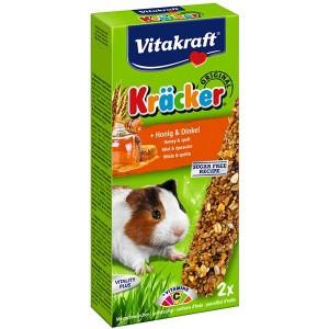 Vitakraft Kräcker® Original + Honig & Dinkel Meerschweinchen 2St./112g