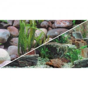 Foto-Rückwand Steine/Steine