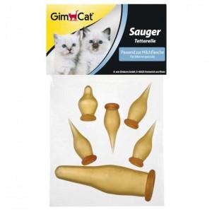 GimCat Ersatzsauger Set 6 St. f. Milchflasche (498515)*