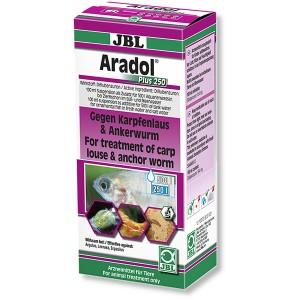 JBL Aradol Plus 250 100 ml - gegen Karpfenläuse, Hautwürmer (1005900)