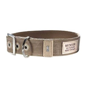HUNTER Halsband New Orleans taupe (Restbestand)