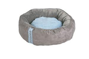 Donutbett 60cm Balu grau/blau