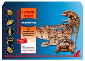 sera med Professional Diagnose-Set - Kotanalyse
