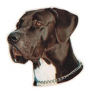 Aufkleber Deutsche Dogge
