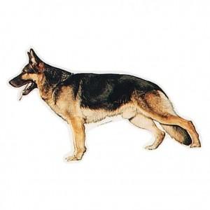 TRIXIE Aufkleber Schäferhund stehend (Restbestand)