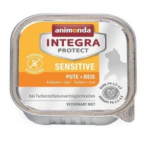 Protect Sensitive 100g Schale - Pute+Reis