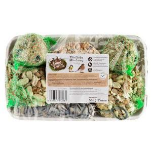 LandPartie  Wildvogelfutter köstliche Mischung 7teilig 550g