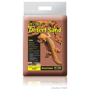 Exo Terra Desert Sand 4,5kg rot
