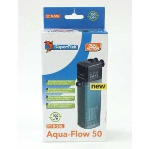 SuperFish Aqua-Flow 50 Aquariuminnenfilter 10-100 l/h